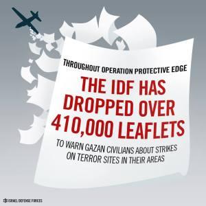 IDF leaflets